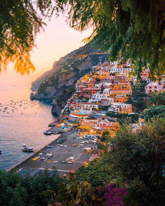 Positana, Italy Amalfi Cost