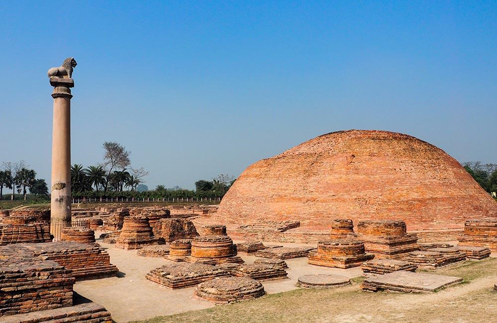 Ashoka Pilla - Archaeological sites in Patna