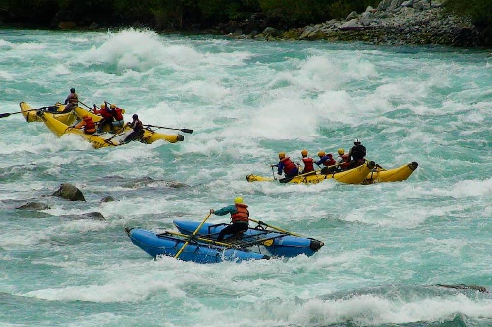 Rafting in Futaleufu River