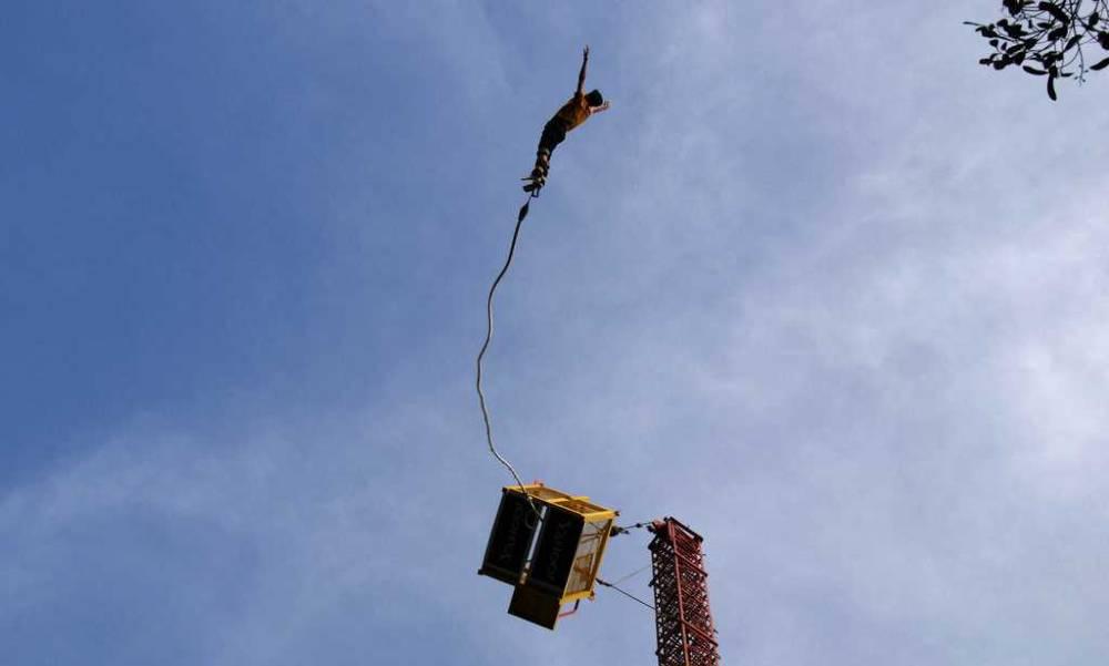 bungee jumping Ozone Adventure Sports Bangalore