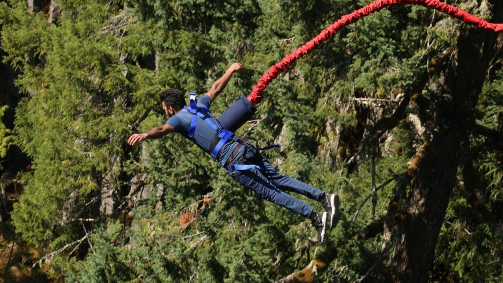 best places to bungee jumping in the world