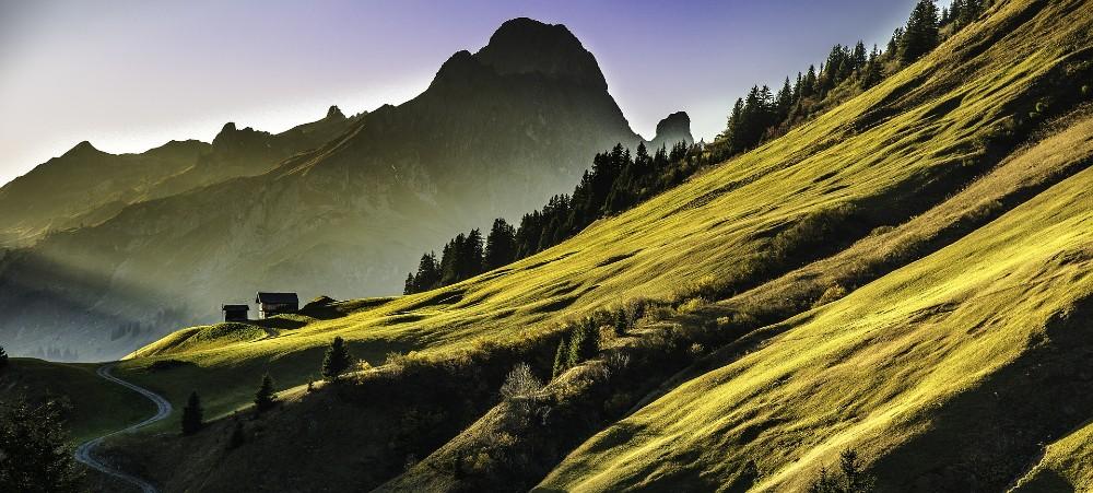 Alps Mountain Range best mountain biking places