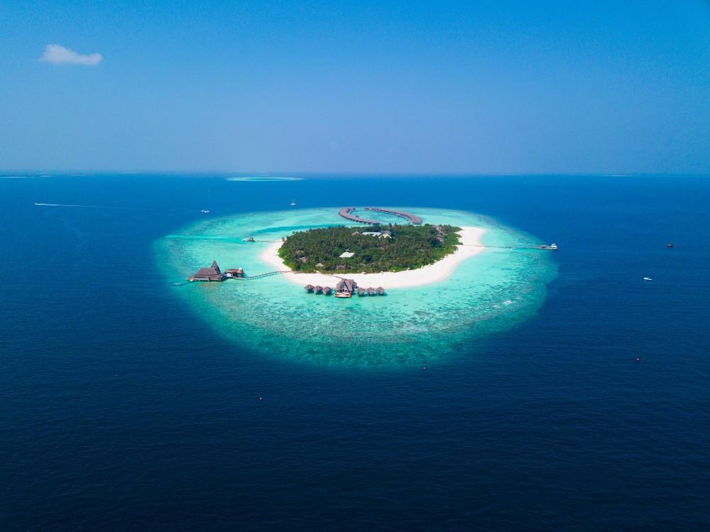 Fihalhohi Island in the Maldives