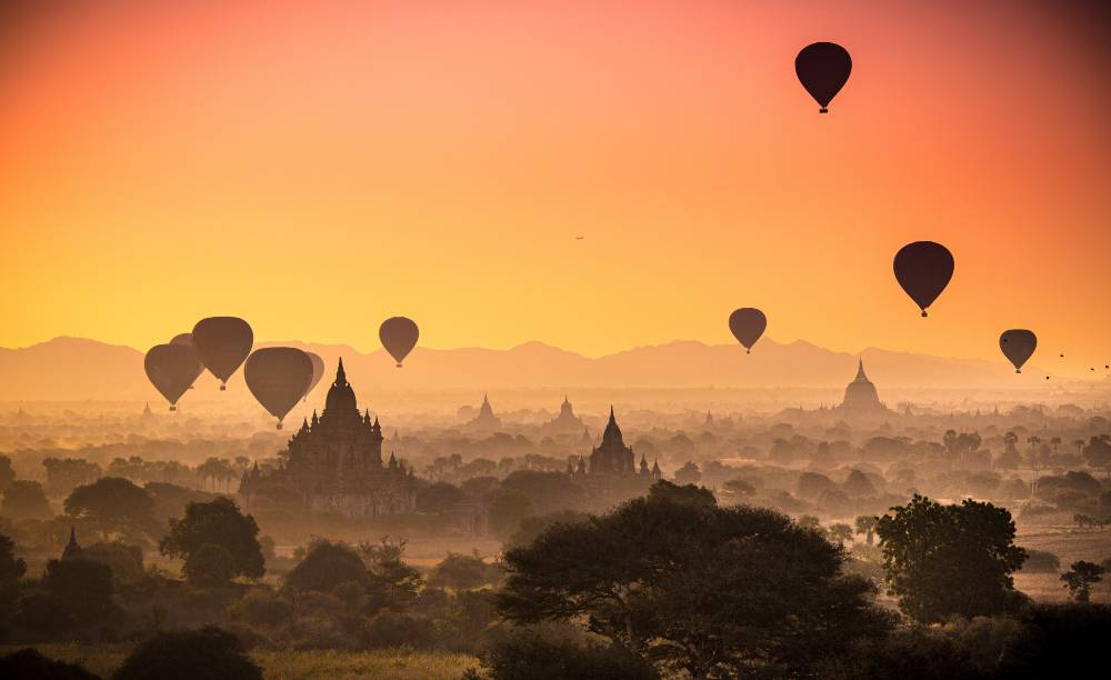 Myanmar - Cheapest foreign destination to travel from India