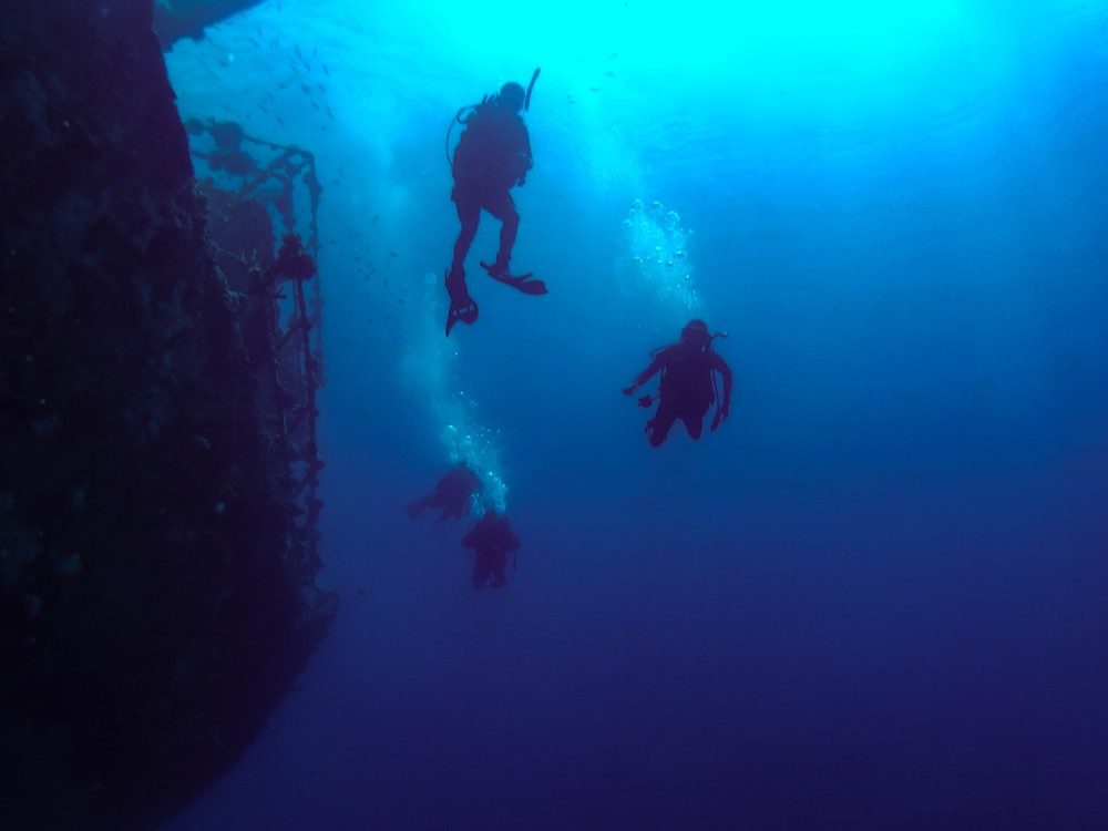 The Blue Hole best places to learn scuba diving
