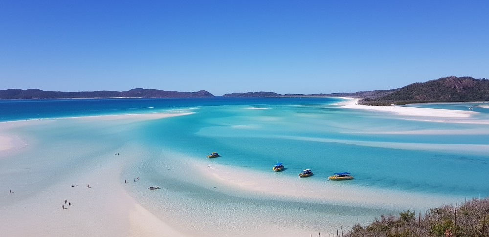Whitehaven Beach best peaceful places in the world