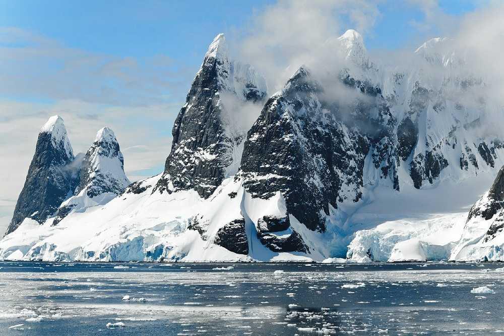 Antarctica adventure places in the world