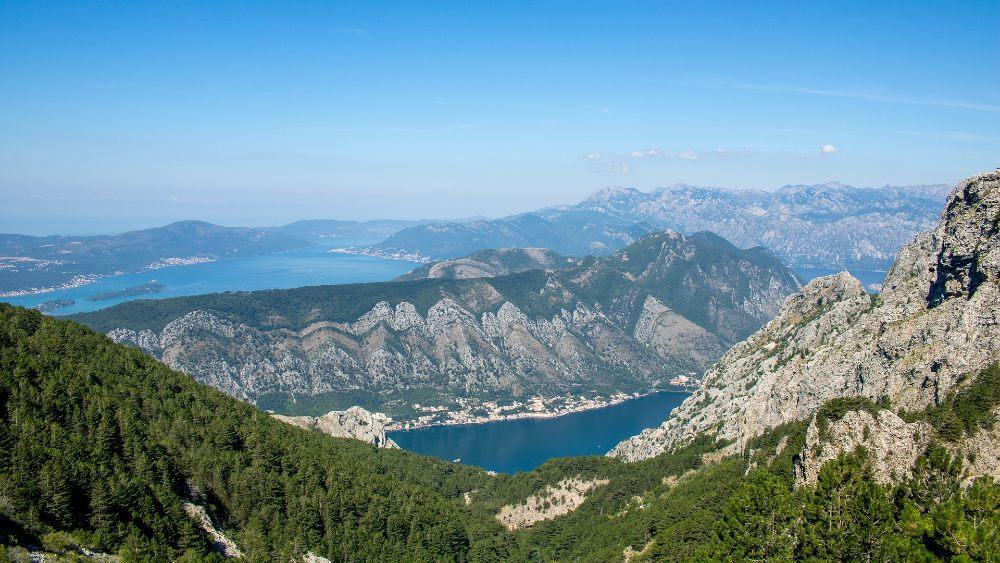 Bosnia and Montenegro mountain climbing places