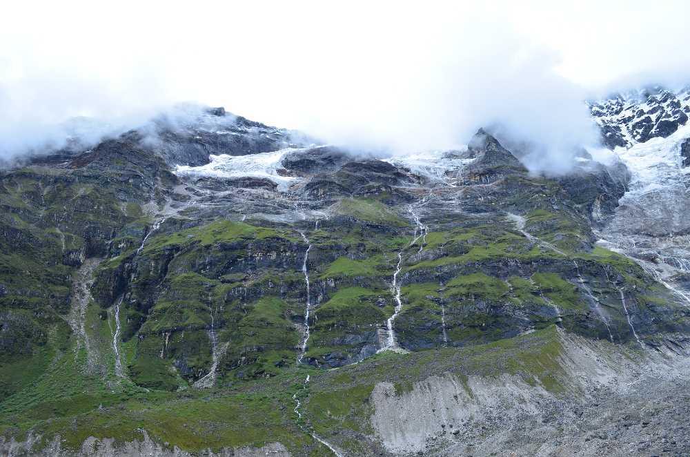 Central Bhutan mountain climbing places