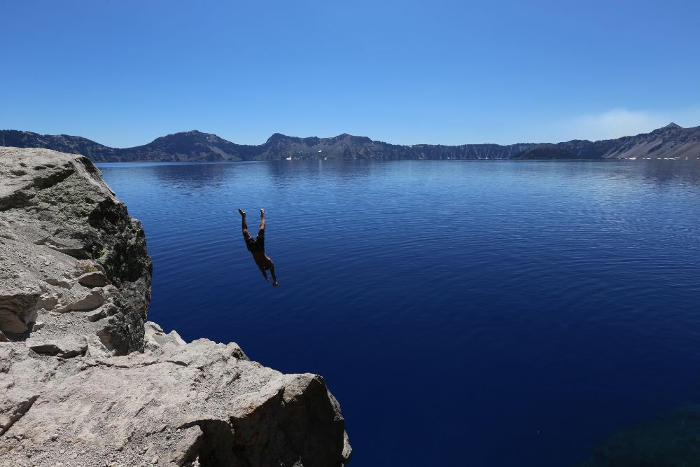 Crater Lake in Oregon top 10 lakes in the world
