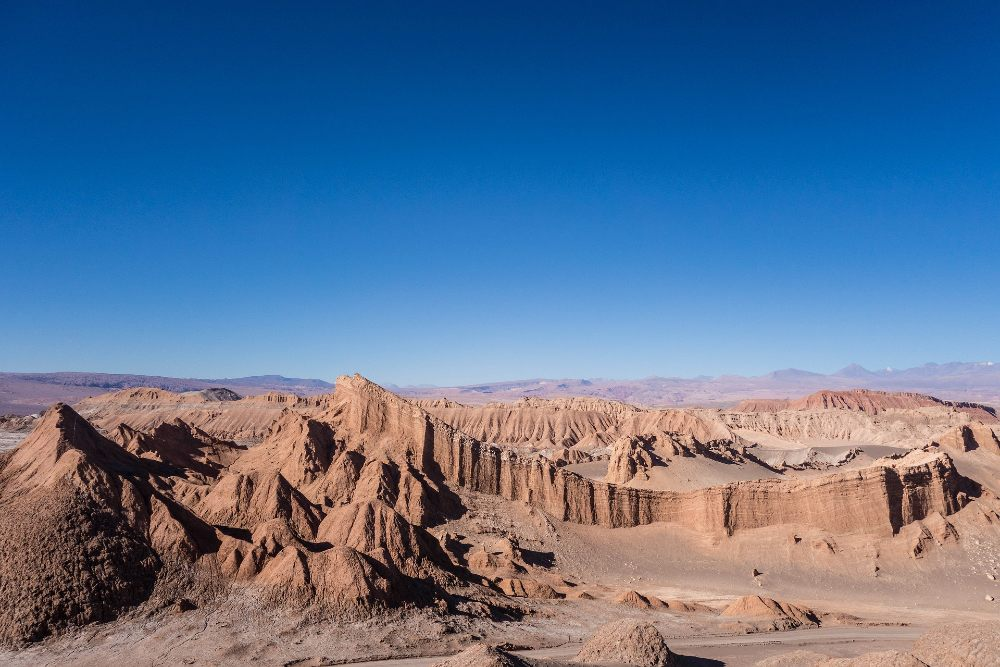 High-Desert in Chile mountain climbing places
