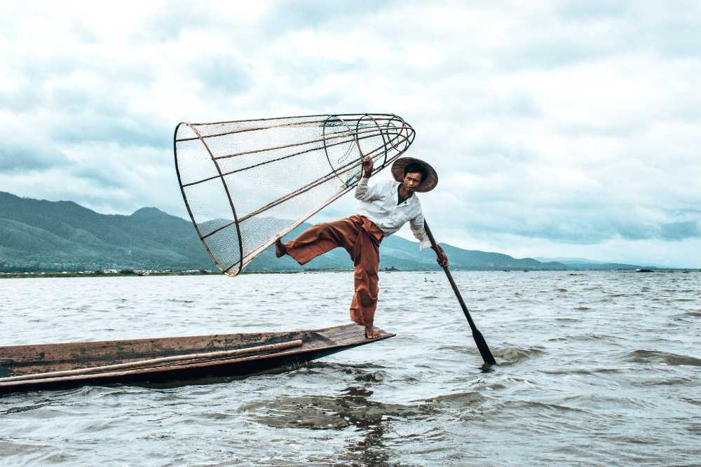 Inle Lake in Myanmar top 10 lakes in the world