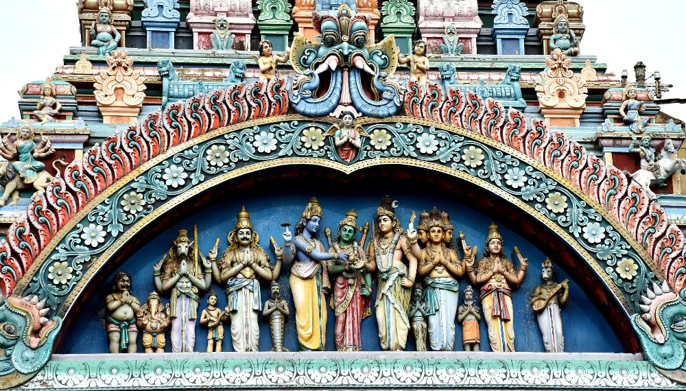 Meenakshi Temple historical places in India