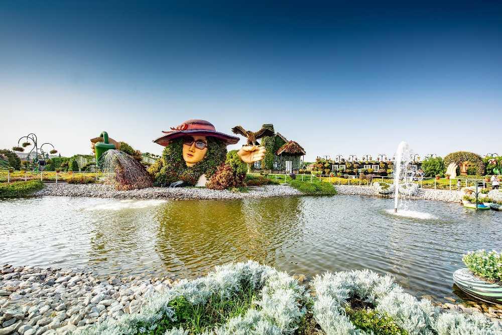 Miracle Garden Dubai top 10 attractions in Dubai