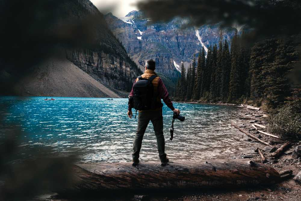 Moraine Lake in Canada top 10 lakes in the world