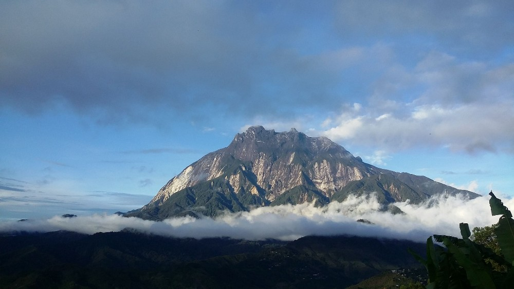 Mount Kinabalu in Malaysia mountain climbing places
