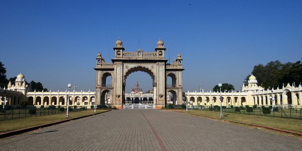 Mysore Palace historical places in India