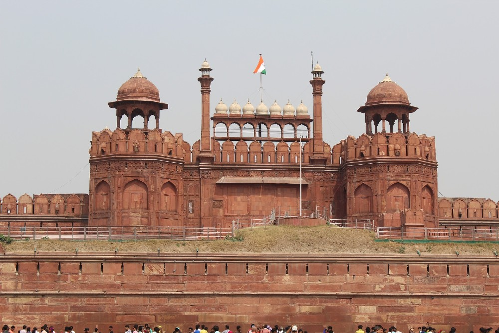 Red Fort historical places in India