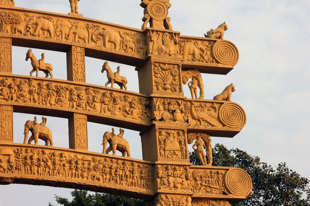 Sanchi Stupa historical places in India