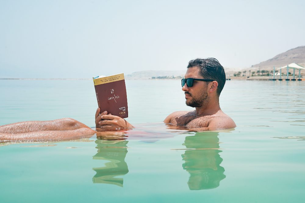 The Dead Sea in Jordan top 10 lakes in the world