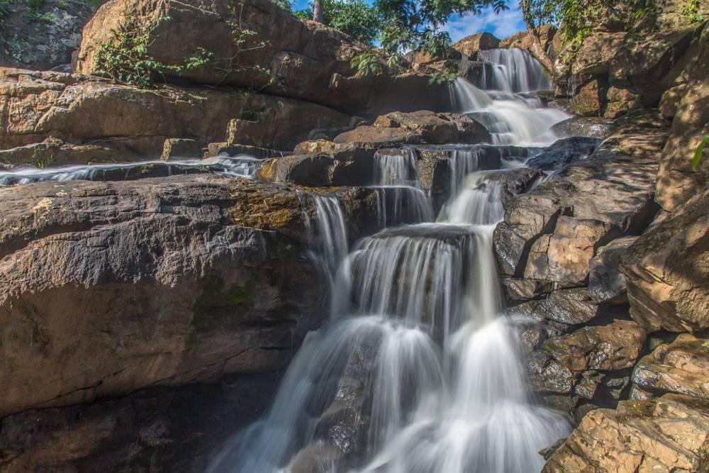Darjeeling, water falls, hills, mountain