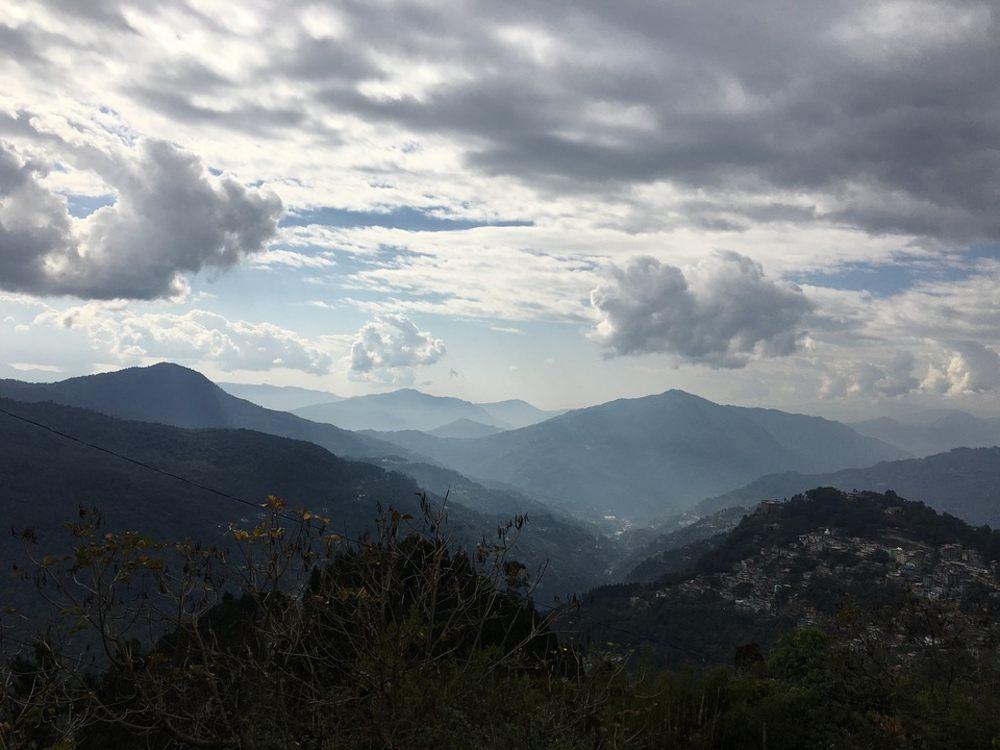 hills, mountain, gangtok
