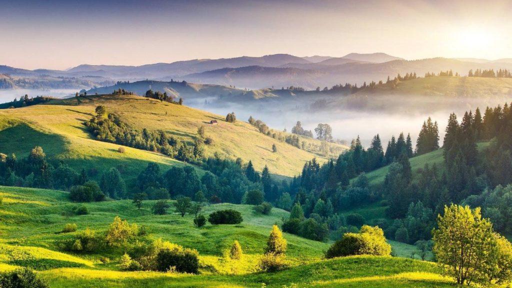 mountain, hills, greenery, india