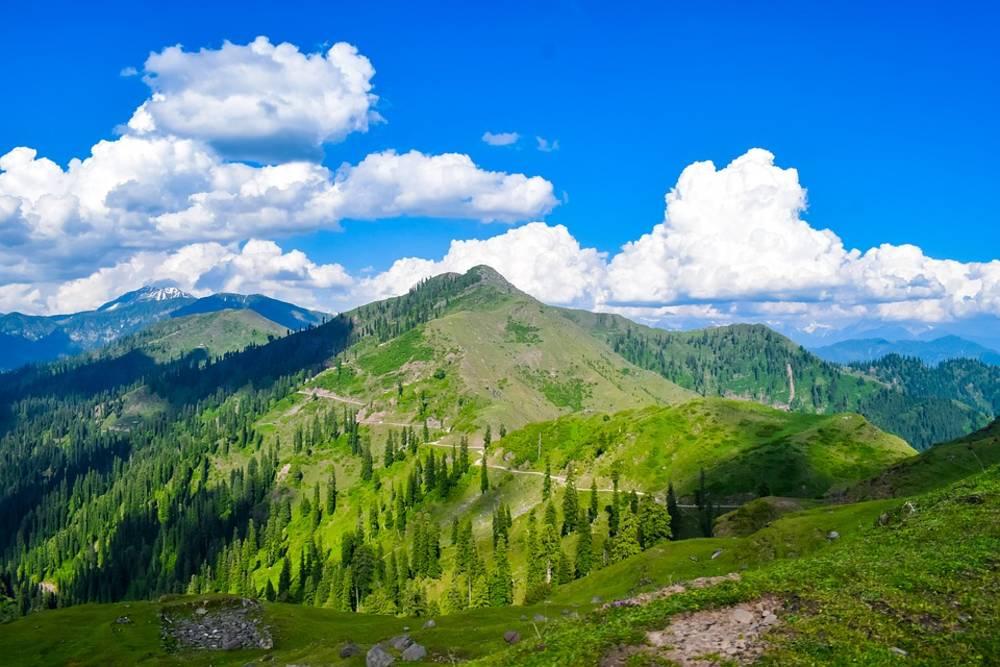 Mountains, Hills in jammu & kashmir
