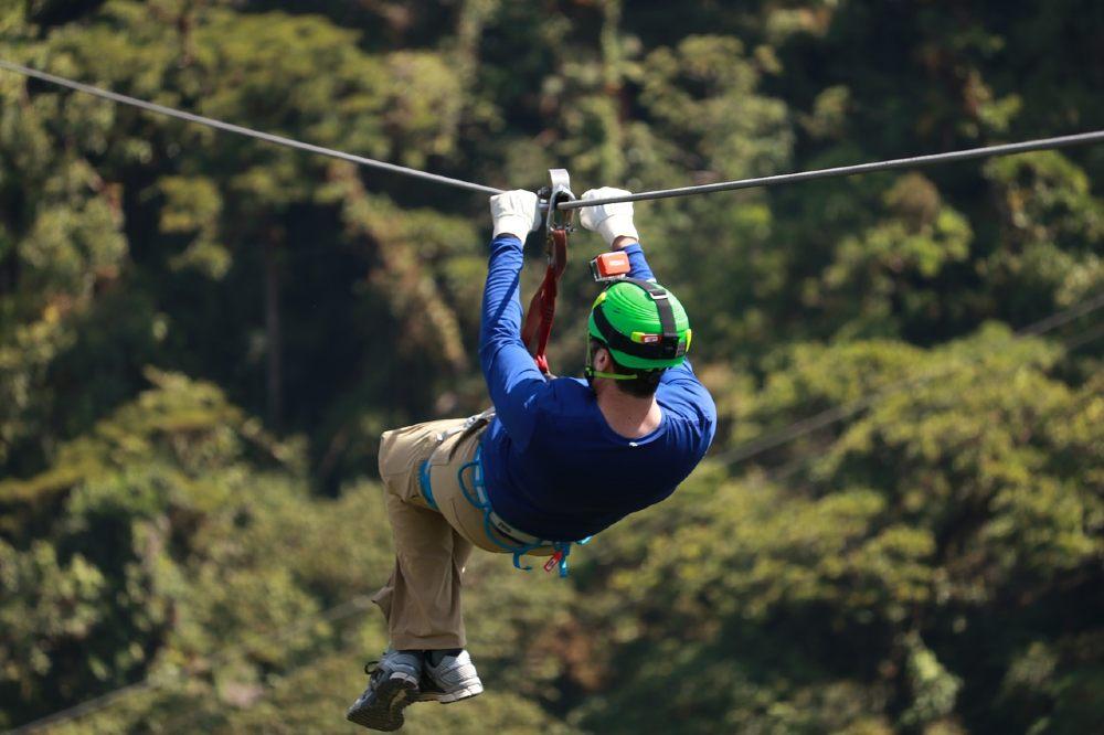Zip Lining in Kanatal