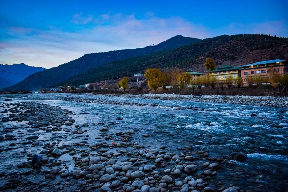water, mountains, bhutan